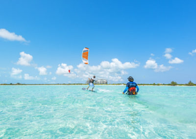 Kite in Providenciales